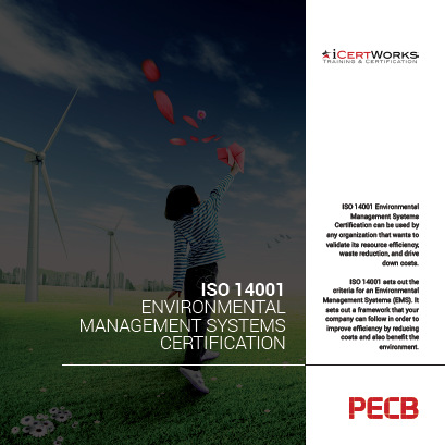 ISO 14001 - Environmental Management Systems Certification Brochure
