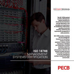 ISO 18788 Management Systems Certification Brochure