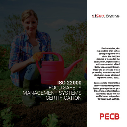 ISO 22000 Food Safety Management Systems Certification Brochure