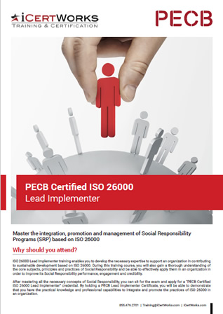 ISO 26000 Lead Implementer Training Brochure