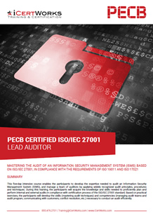 ISO 27001 Lead Auditor Training Brochure