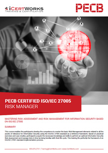 ISO 27005 Risk Manager Training Brochure