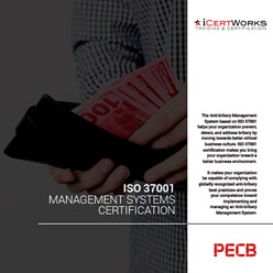 ISO 37001 Management Systems Certification Brochure