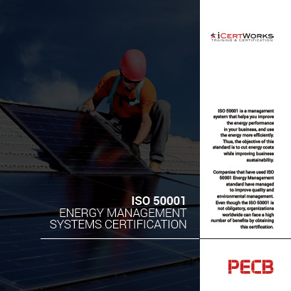 ISO 50001 Energy Management Systems Certification Brochure