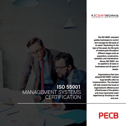 ISO 55001 Asset Management Systems Certification Brochure