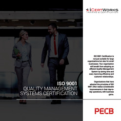 ISO 9001 Management System Certification Brochure